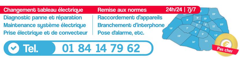 Dépannage électricité Paris